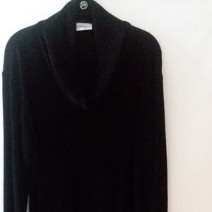 Chico's Black Cowl Neck sweater